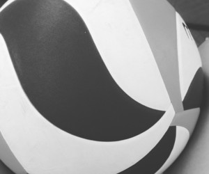 ball, voleibol, and heart image