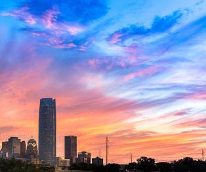 city, oklahoma, and sky image