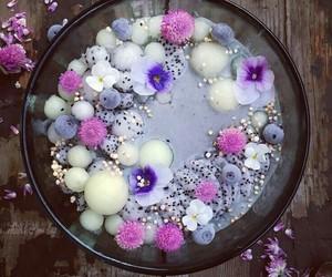 fruit, smoothie bowl, and sweet image