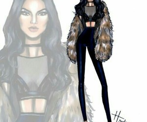 kendall jenner, hayden williams, and art image