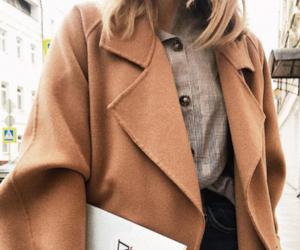 coat, pretty, and fashion image