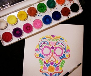art, coco, and mexican image