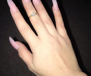 hand, nails, and pretty image