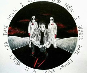 song, top, and twenty one pilots image
