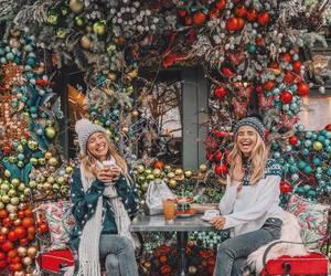 christmas, girl, and gorgeous image