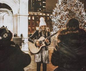 christmas, concert, and girl image