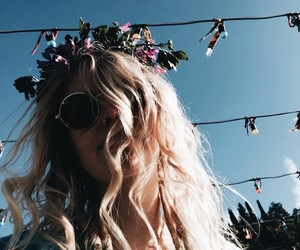 carefree, festival, and flowers image