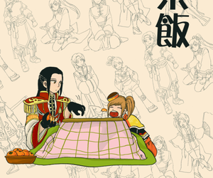 anime, couple, and dynasty warriors image