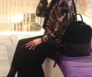 hijab, military, and nike image