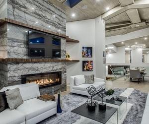 beautiful, sofa, and salon image