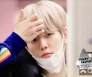 exo, baekhyun, and airport image