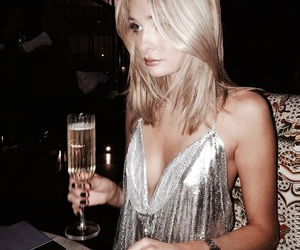 fashion, blonde, and drink image