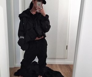 accessories, bae, and black image