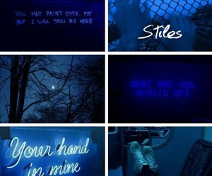 aesthetic, blue, and edit image