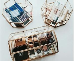 aesthetic, make-up, and geometric image