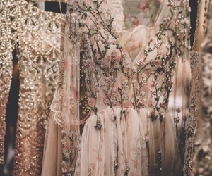 dress, pink, and floraldress image