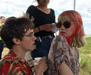 jessica barden, alex lawther, and aesthetic image