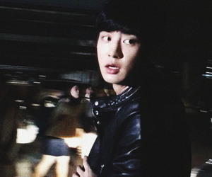aesthetic, black, and kpop image