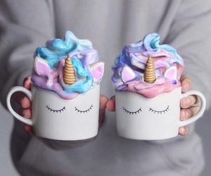 unicorn, food, and drink image