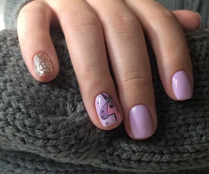 beauty, girly, and manicure image