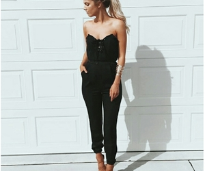 aesthetic, jumpsuit, and fashion image