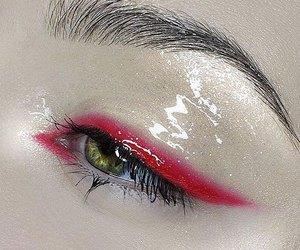 beautiful, bronze, and eye makeup image