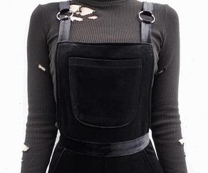 black, fashion, and alternative image