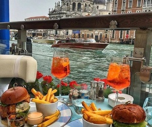 food, holiday, and italy image