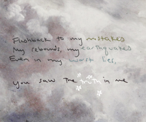 dress, quote, and handwritten image