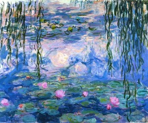 art, beautiful, and impressionism image