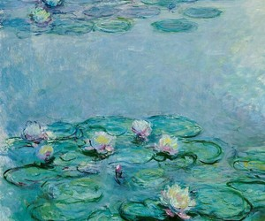 monet, painting, and art image