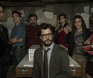 serie, tv show, and la casa de papel image