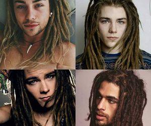 dreadlocks, hair, and dreads image