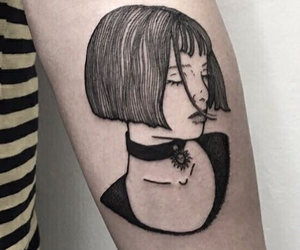 tattoo, mathilda, and movie image