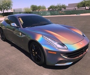car, holographic, and luxury image