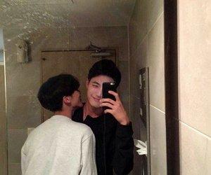 couple, gay, and boy image