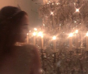 aesthetic, party, and chandelier image