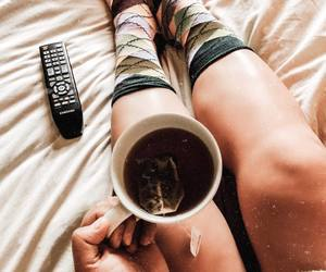 chill, fashion, and tea image
