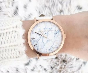 style, watch, and marble image