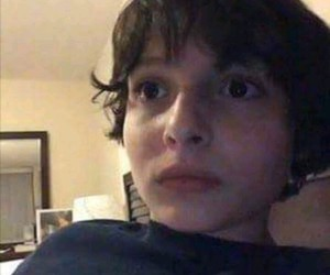 reaction, stranger things, and mike wheeler image