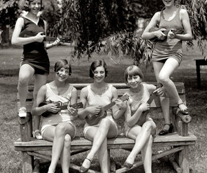 girl power, music, and vintage image