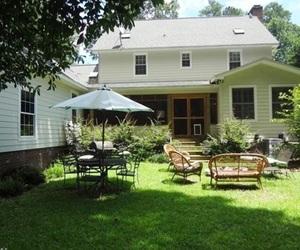 backyard, dream house, and home image