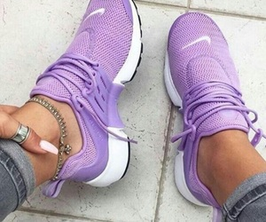 shoes, nike, and purple image