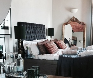 interior, bed, and home image