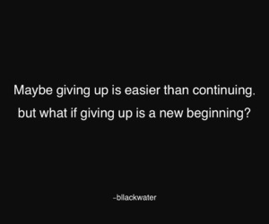 beginning, maybe, and quotes image