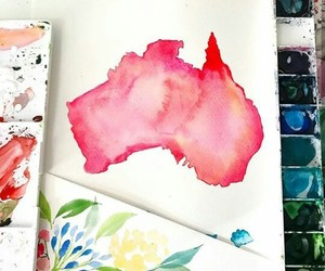 craft, paint, and pink image