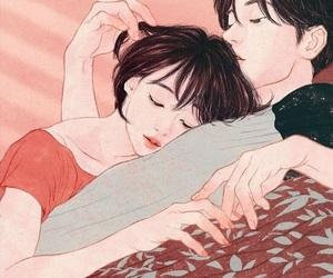 boy, korean, and love image
