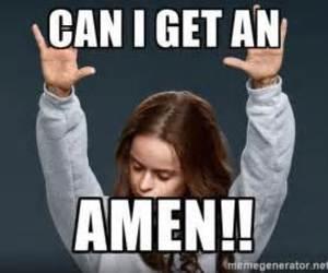 amen, hands, and Raise image