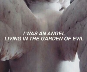 aesthetic, angel, and evil image
