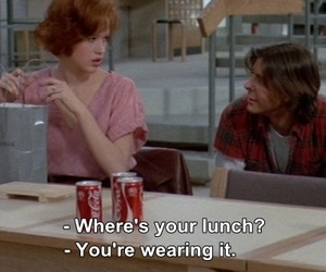 quotes, The Breakfast Club, and funny image